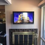 TV over fireplace Colorado Springs