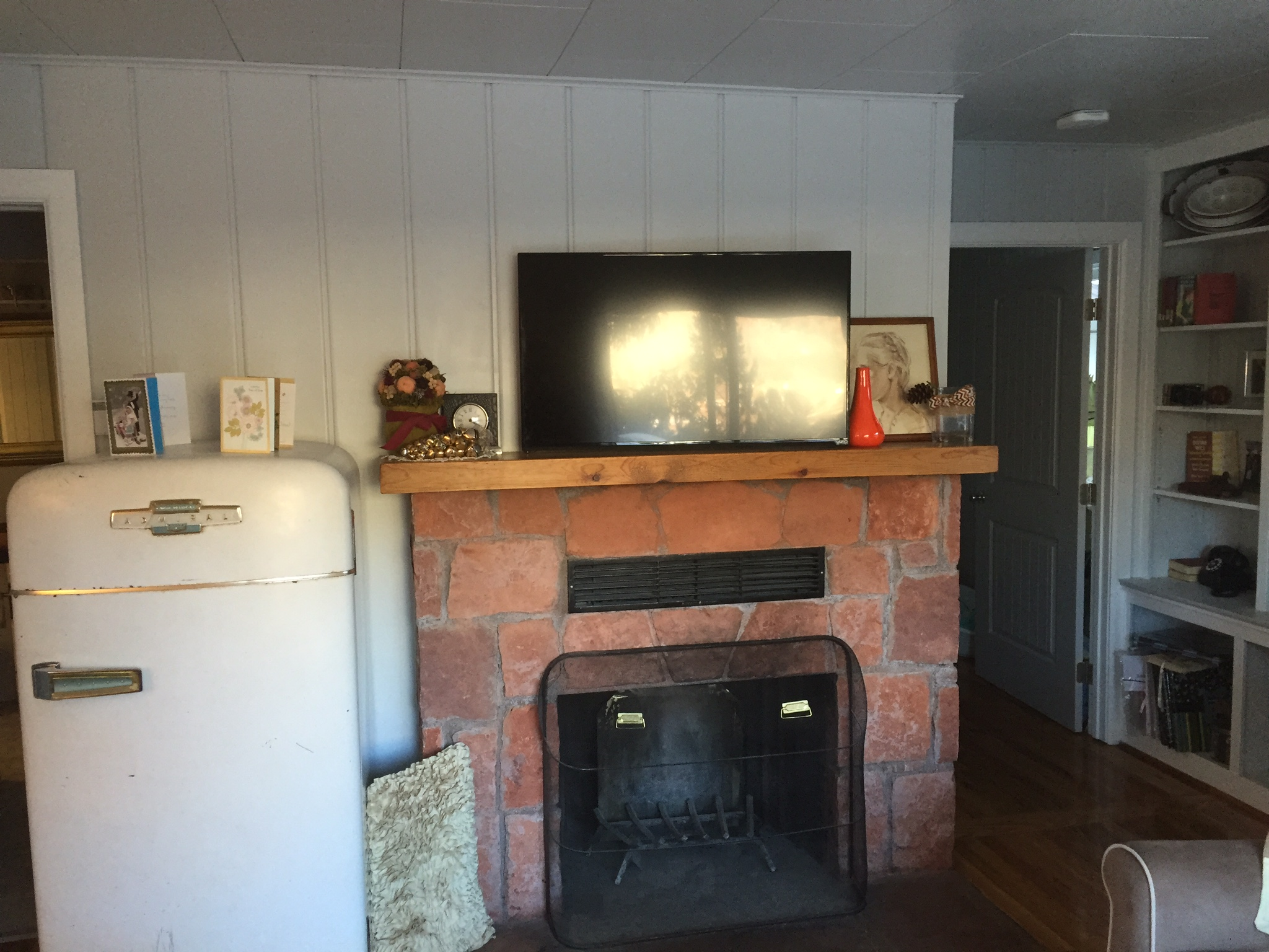 Tv Over Fireplace Installation In Colorado Springs Wire Works Co Wiring Above