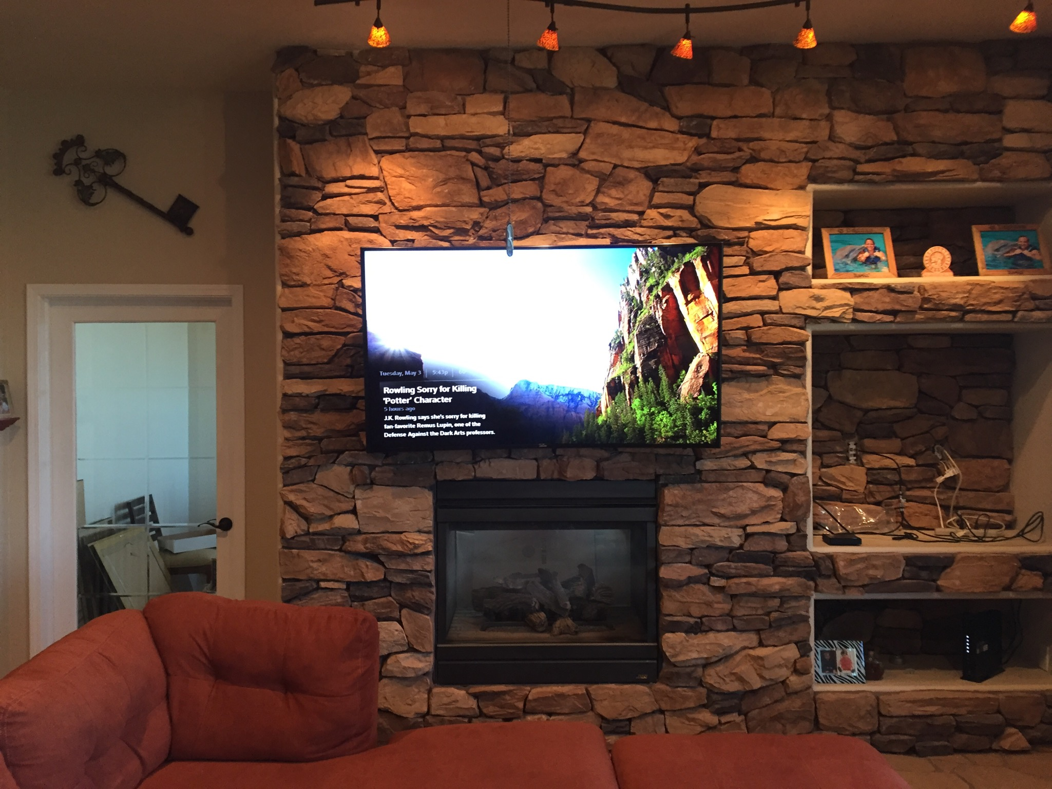 Why trust Wire Works with your TV over fireplace? Wire Works Co Inc has over 20 years of experience in providing quality electrical installations.